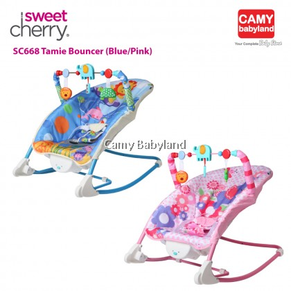 Sweet Cherry - Tamie Bouncer (Birth to 48 months (≤18KG) - Available in 2 colours
