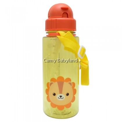 Snapkis - Tritan Straw Water Bottle (500ml) - Assorted Designs, BPA Free