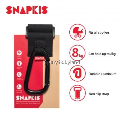 Snapkis Easy-Clip Stroller Hook (Medium)