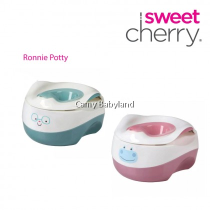 Sweet Cherry - 3-in-1 Kid Potty, Stool and Toilet Seat Trainer (Assorted Colors)